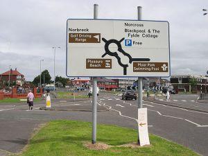 bispham roundabout lesson